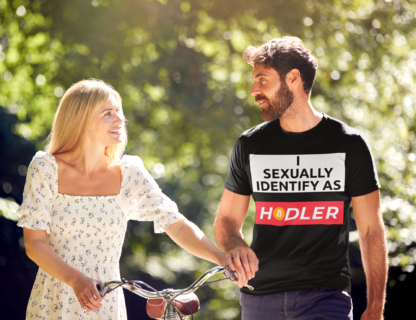 I Sexually Identify As Bitcoin HODLER Unisex T-Shirt