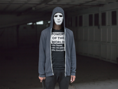 Powers Of The World Encryption Cryptography Unisex T-Shirt