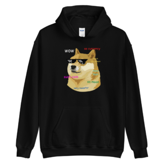 Doge Coin Funny Crypto Unisex Hoodie