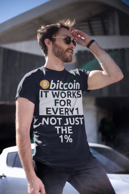 Bitcoin Crypto Works For Everyone Unisex T-Shirt